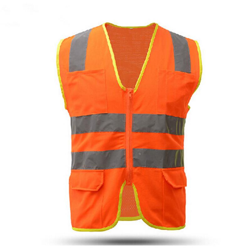 Мода высокое качество жилет безопасности светоотражающий жилет прогулки и т . д . день и ночь для запуска защитную одежду chaleco reflectante