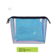 2018 Newest iridescent cosmetic bag laser clear cosmetic pouch travel makeup bag