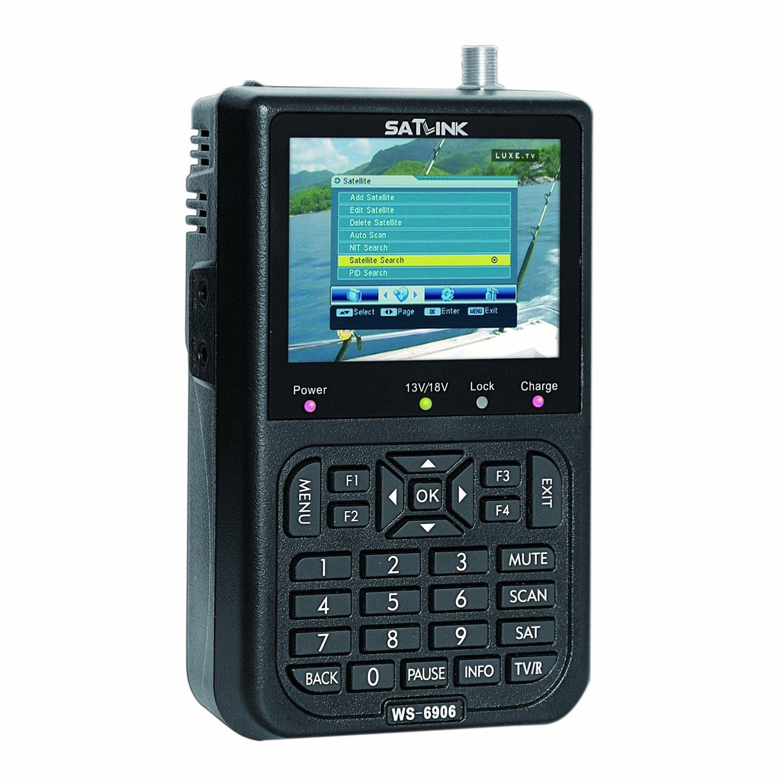 "SATLink 3.5"" WS-6906 DVB-S FTA Data Satellite Signal Finder Meter"
