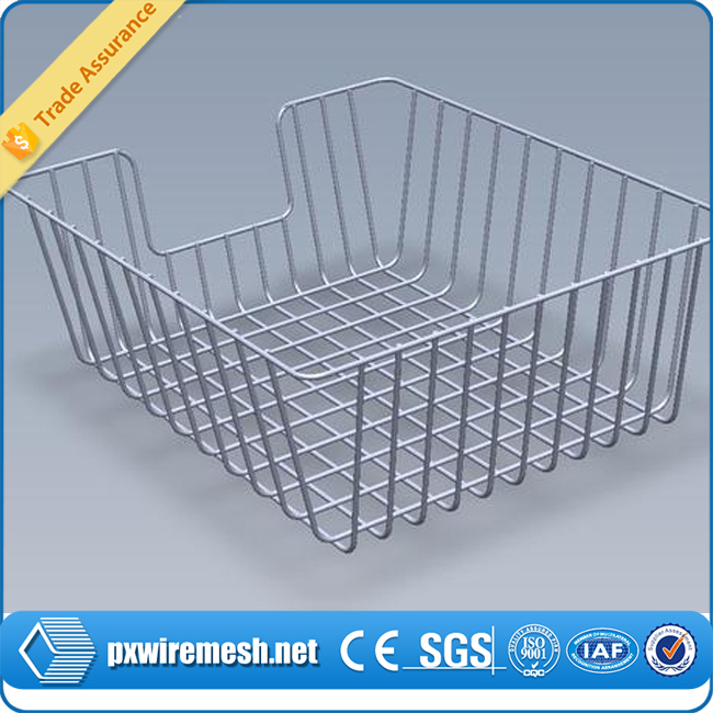 304 316 316l Stainless Steel Wire Mesh Baskets / Stainless Steel ...