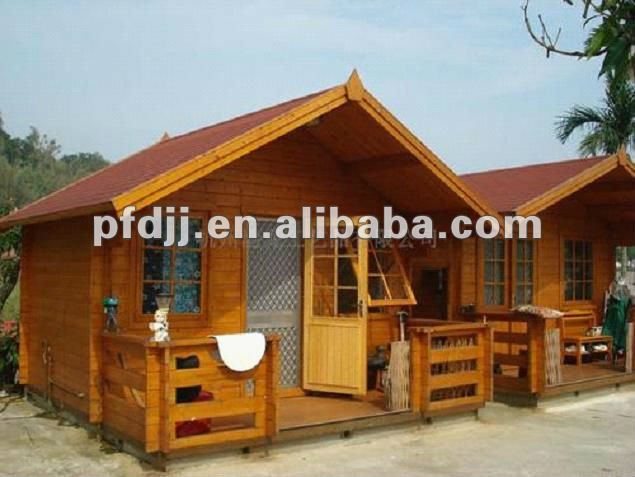 2012 Latest Design With High Quality And Low Price Economic Prefabricated Wooden House