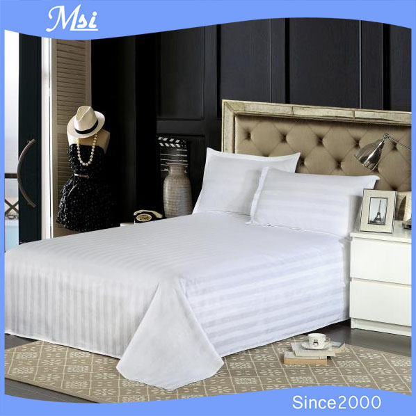 Captivating Hot Sale White Cotton Used Hotel Bed Sheets Manufacturers In China