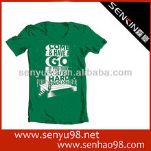 2014 fashion cotton t shirts and girls 100 cotton t shirt