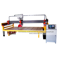HIZAR HCT4000A Auto low price circular saw countertop stone cutting table saw machine