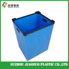 Best price china color optional pp board Hollow Plastic Box