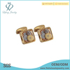 Top selling gold watch cufflink,copper cufflink for women,handmade cufflink
