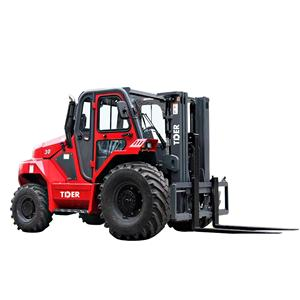 TIDER hot sale powerful 4WD all rough terrain forklift with triplex mast