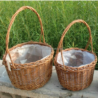 2016 new design cheap cane wicker baskets from linyi lucky hadicraft factory