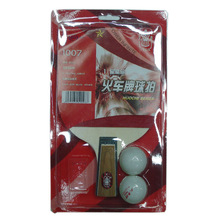 wholesale professional pen-hold grip custom logo poplar wood red rubber pimple in training match table tennis racket