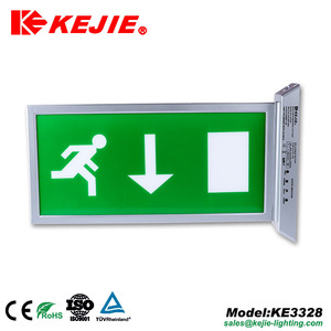 Hot sale TUV industrial ceiling mounted exit sign LED emergency light