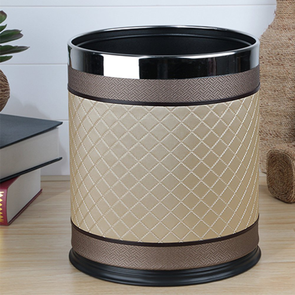European-style household living room trash can/Kitchen bathroom trash/Creative simplicity trash-Q