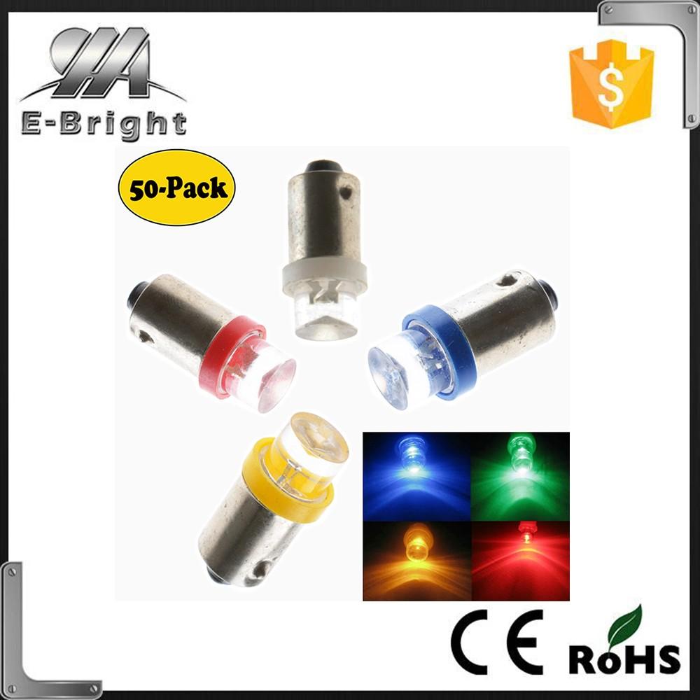Ba9s W5w Bulbs 1 Led White Car Dome Light 194 901/led Shop/led ...