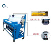 1.8m-2.4m Fabric Roller Cutting Machine/Electric Sponge Rolling Plastic Winding Machinery With Counter Meter
