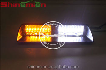 Federal signal viper s2 led light bars orange clear flashing strobe federal signal viper s2 led light bars orange clear flashing strobe light aloadofball Image collections