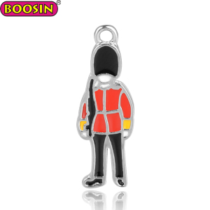 Jewelry Making European Royal Guard Charm for Zipper Pull Decoration
