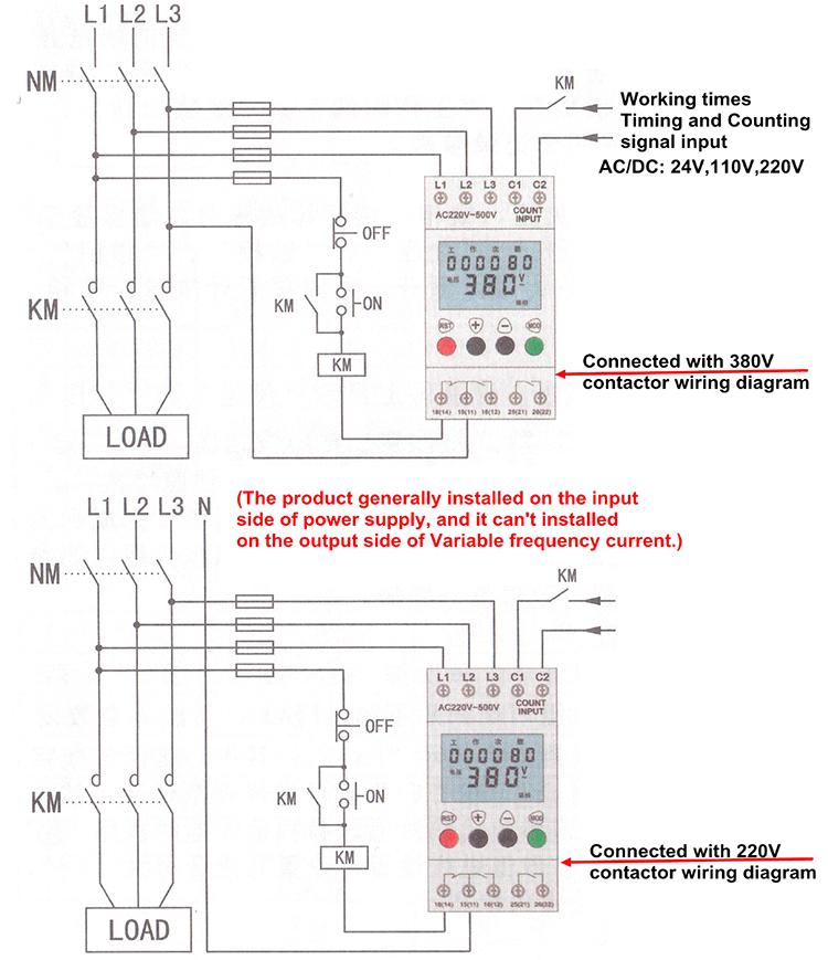 Elsine Jvr1000 Digital Display 3-phase Voltage Monitoring Control ...