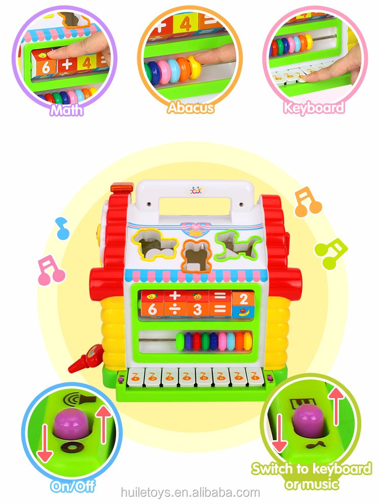 Bestselling Toy Brands On Amazon Com: 2016 Best Selling Huile Toys Funny House Toy With Music