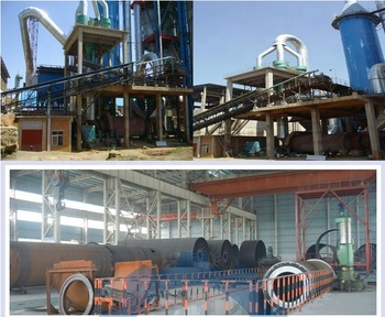 Cement production equipment, dry process rotary kiln for cement plant Tashkent project in Uzbekistan