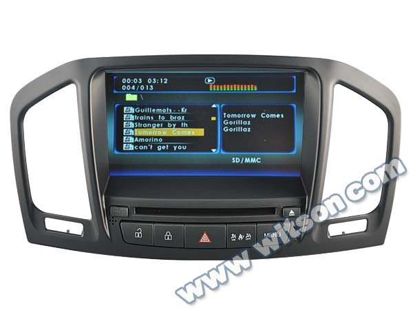 WITSON bluetooth car usb interface for OPEL INSIGNIA