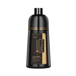 Free sample wholesale chinese salon washable personal harmless natural herbal color magicolor black hair dye shampoo