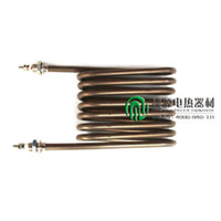 8 U-style steam oil heater coil heating elements for shoe machinery