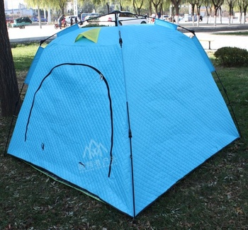 High Quality Blue Portable Waterproof Winter Camping Keep Warm Ice Fishing Shelter Tent