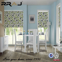 RRAJ customized top quality window printed roll up shades and blinds
