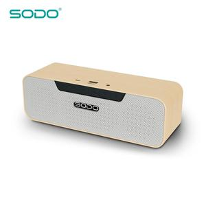 2018 SODO High Quality Cheap Hot Selling Wooden Portable Bluetooth Professional Mini Wireless Speaker