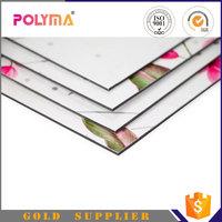 Polyma Foshan Factory Direct Sales Aluminum Sandwich Panel / Building Material ACP / Aluminium honeycomb wall composite board