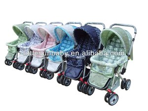 Best Baby Stroller/Baby Pushchair Model 2059 Steel Pedal Toys Square Tube Pipe