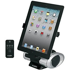 JENSEN JiPS-270i iPad(R)/iPhone(R)/iPod(R) Docking Speaker & Charger