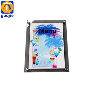 Custom Plexiglass Acrylic Clear Acrylic Board With UV Printing