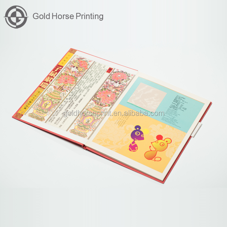 Popular Hard Cover Hot Stamping Soft Cover Book With Thread Stitching Offset Paper Books Printing