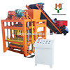 Hongbaoyuan grass paving block machines QTJ4-28 for road and garden and square and grass plant