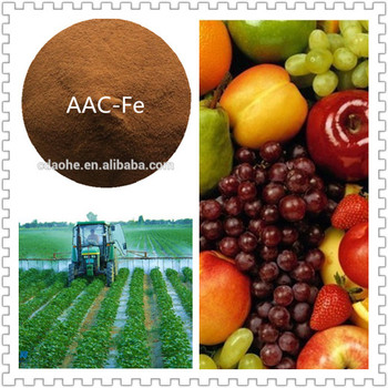 amino acid chelated iron biological fertilizer for fruits and vegetables