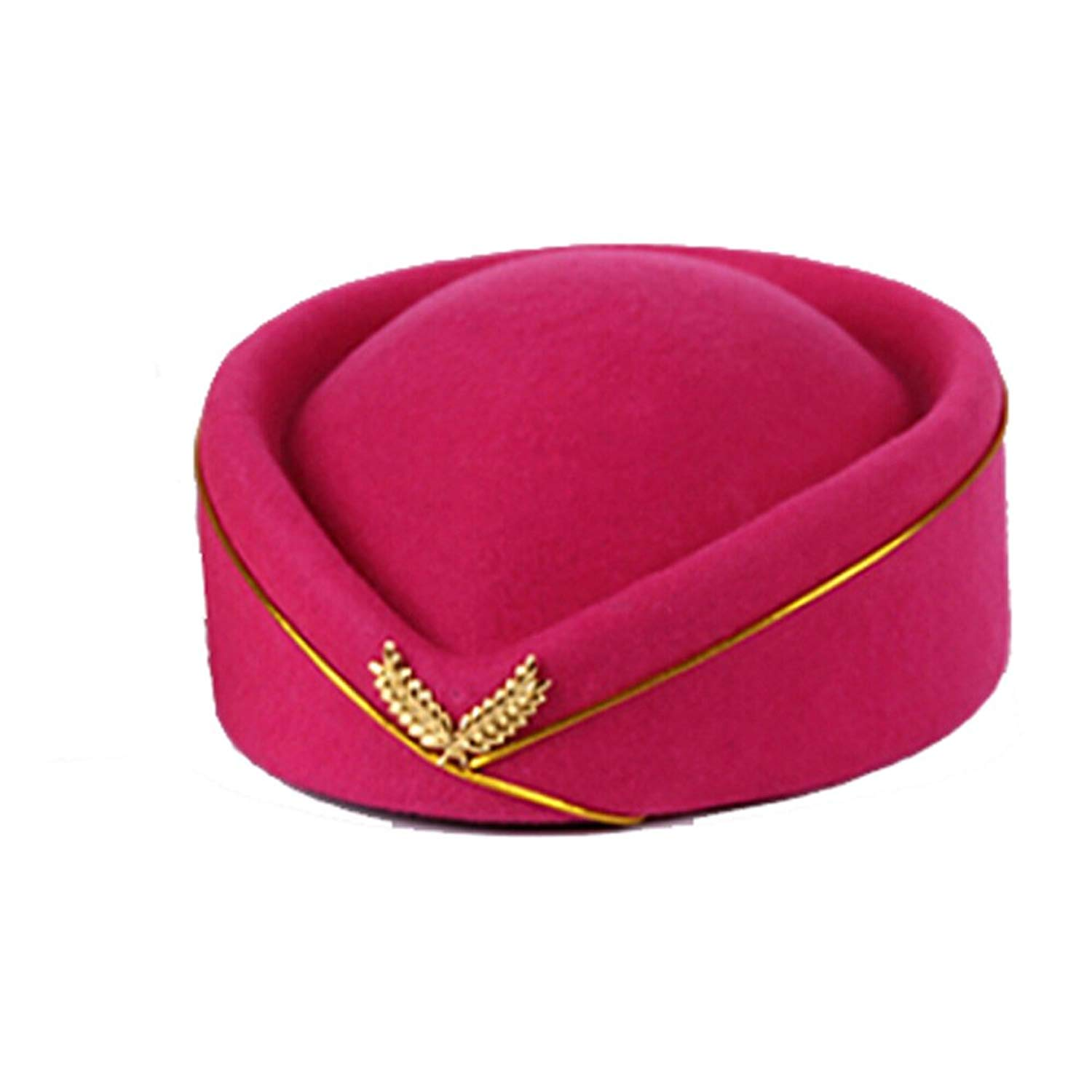 9b8e2159836 Get Quotations · Handmade FADVES Professionals Customized Careeer Stewardess  Hat Etiquette Cap Women