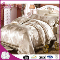 Top quality wholesale luxury 26 momme pure mulberry jacquard silk bedding sets