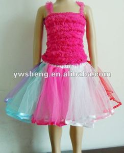 The latest and colorful cute puffy tutus for toddlers,colorful baby girls pettiskirt tutu skirts