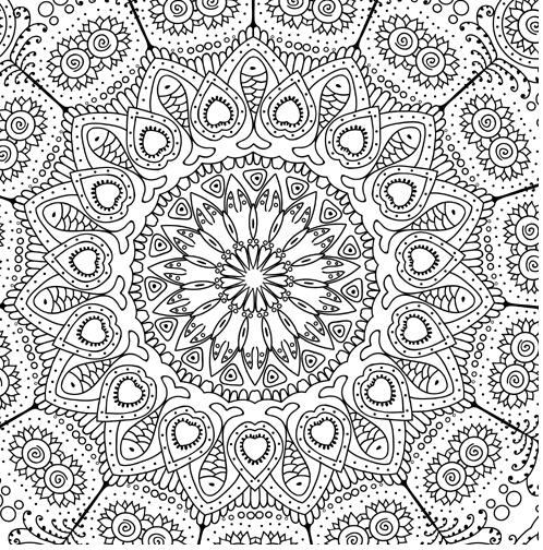 zen art printable coloring pages - photo #32