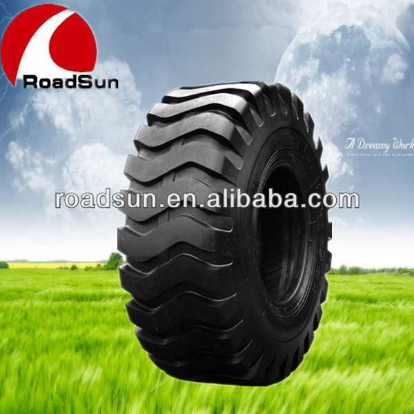 Advanced off the road otr tyre/ bias tyre with GCC, DOT,ECE Cetificate for loader