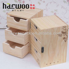 New Solid Wood Box Cosmetic Case