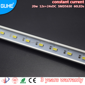 cheap high lumens moving DC12V constant current smd 5630 aluminum force led light bar