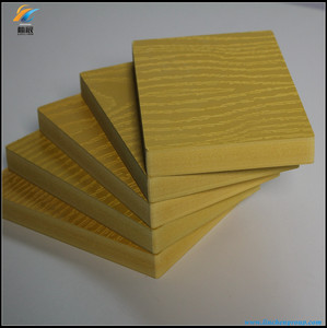 PVC plastic barge board with different density