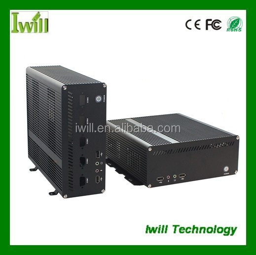 Gaming pc case Iwill X8 mini itx case wholesale computer parts