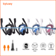 new design scuba diving equipment easy breath dry double tube full face silicone snorkel mask for gopro hero 7 6 5 4