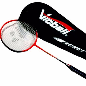 customized logo high quality cheap carbon graphite lining badminton