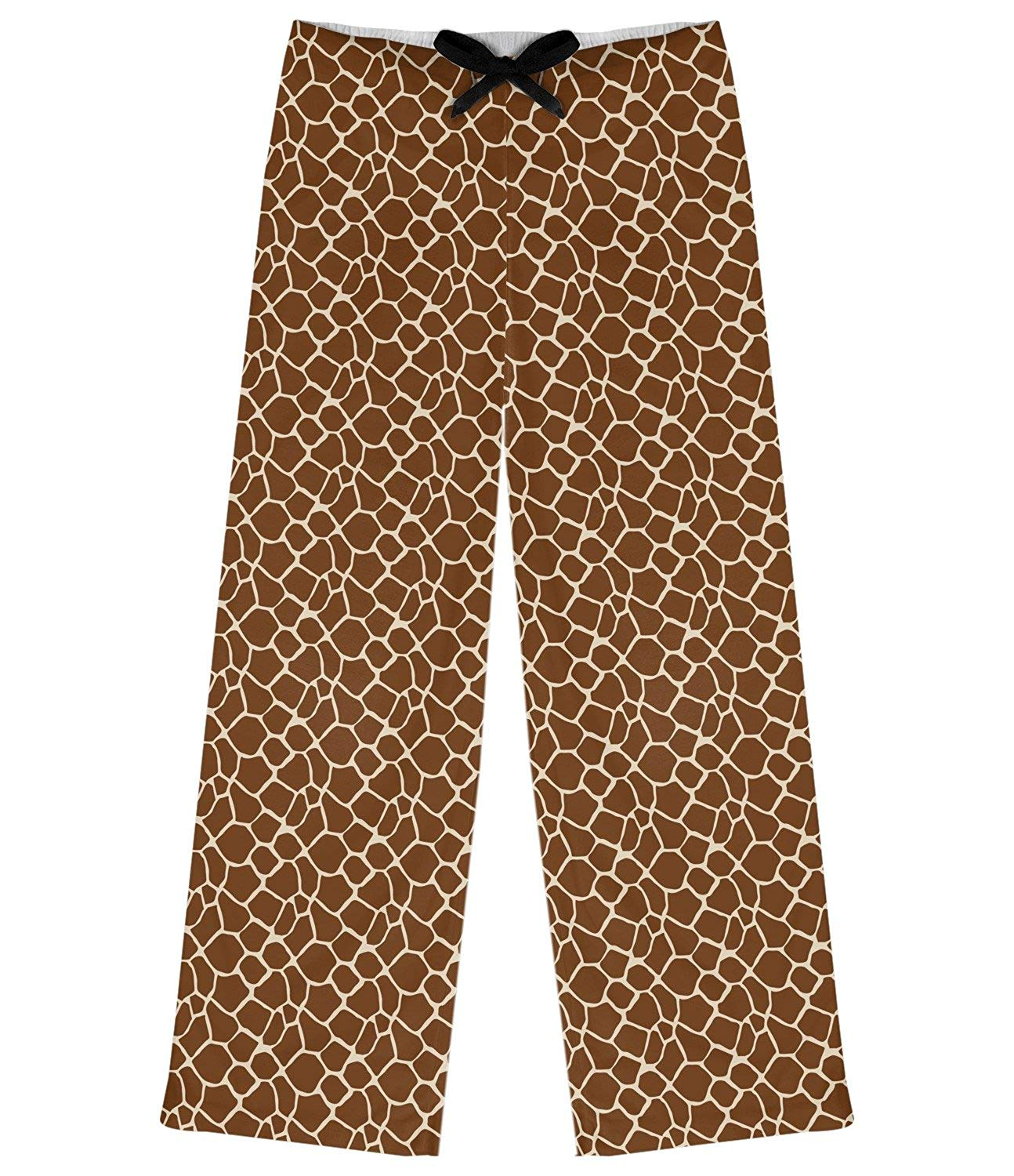 abd190f384 Get Quotations · RNK Shops Giraffe Print Womens Pajama Pants (Personalized)