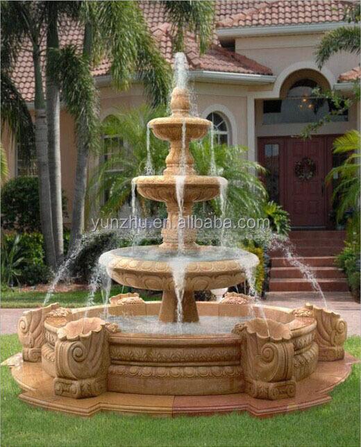 Fuentes jardin piedra fotos de jardines con fuente jardn for Fuentes decorativas
