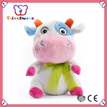 ICTI Factory customized lovely new design cow stuffed animal plush