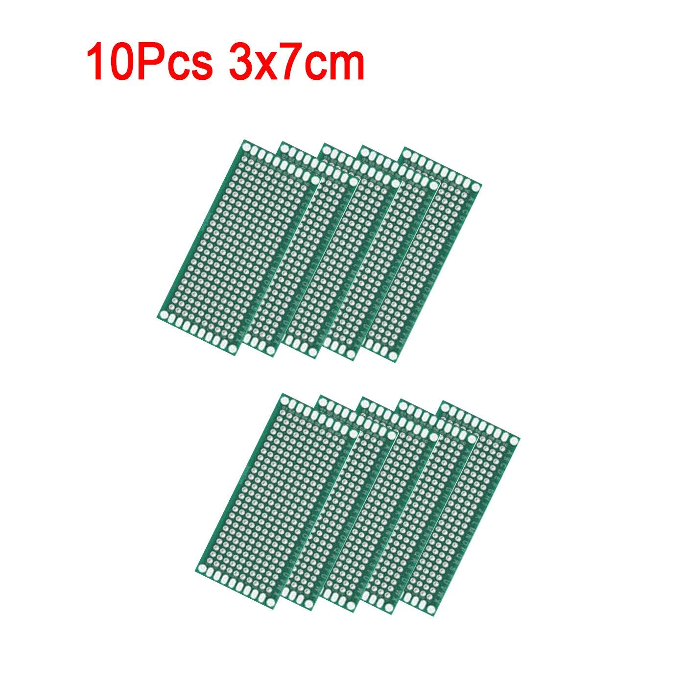 Cheap Double Sided Pcb Soldering Find Doubleside Prototype Universal Printed Circuit Board Electronics Get Quotations Karcy 10pcs For Diy And Electronic